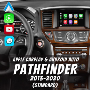 Nissan Pathfinder 2013-2020 Apple CarPlay & Android Auto Integration