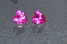 A Single Gorgeous 3mm IF Heart Cut Genuine Red Ruby