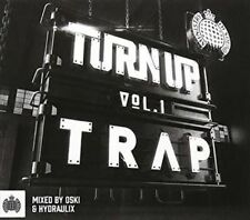 Ministry of Sound Turn up Vol 1 Trap Various Artists 2 CD Digipak