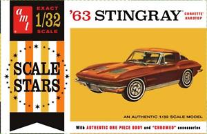 AMT 1:32 1963 Chevy Corvette, #R2AMT1112
