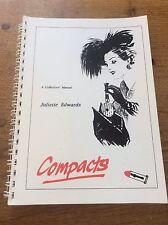 Rare Book Collectors Manual English Vintage Vanity Powder COMPACTS Compact 1920