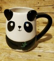 Coffee Tea Mug Cup By Tag Panda Bear Black White New Fun Gift Large Beverage
