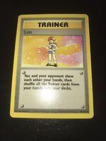 Lass 75/102 Rare Pokemon Trainer Base Set Unlimited Mint