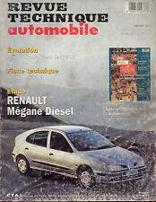 RTA revue technique l'expert automobile n° 587 RENAULT MEGANE 1