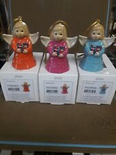 Goebel, 2020 Annual Angel Bell, 45Th Edition, Set Of 3 Color Bells, Free Usps