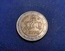 Moneta 2 Euro Grecia 2002 Con la S Nella Stella Errore Conio