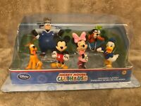 Disney Store Mickey Mouse Clubhouse Figurine Playset 7 Figurines NEW IN BOX RARE