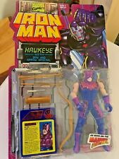 Marvel Comics IRONMAN HAWKEYE With Bow and Arrow arsenal Mint in package !