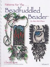 Patterns for the Beadfuddled Beader 4 - beading pattern book by Amy Loh-Kupser