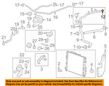 GM OEM Radiator-Outlet Pipe Seal 12623519