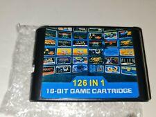 Sega Genesis & Mega Drive - 126 in 1 Multi Game Cartridge Sega Mega Drive