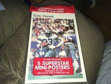 "Tony Dorsett Roland Harper 1980 Marketcom 5""x7"" Mini Poster Unopened 5 Pack"