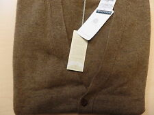Woolovers Lambswool V Neck Cardigan Sweater for Men size Medium