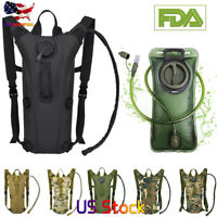 L Water Bladder Bag Hydration Backpack Outdoor Hiking Camping Cyclin