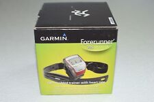 Garmin Forerunner 305 GPS Enabled Trainer with Heart Rate Monitor CIB Manual +CD
