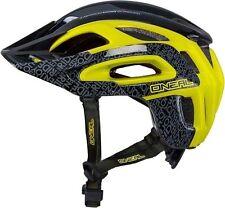 ONeal Orbiter Fidlock stile Enduro MTB Bicicletta Casco Nero Giallo 60-64cms