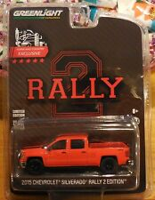 Greenlight Town & Country Exclusive 2015 Chevy Silverado Rally 2 Edition Stock