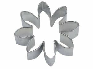 Flower Shaped 3 Inch Cookie Cutter