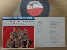 JAY AND & THE AMERICANS JAPAN 7INCH PS EP NM MINT- SUPE