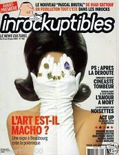 LES INROCKUPTIBLES 708./...LA POP GROOVY DES NOISETTES.../.06 -2009