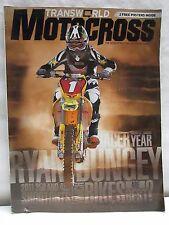 Transworld Motocross Magazine January 2011 with 2 Posters Brett Metcalfe Olivia