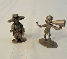"Pewter Figurines ""All Dressed Up No Place To Go"" Hudson USA #675 Cheerleader 918"