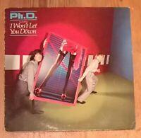 Ph.D. – Self Titled Vinyl LP Album 33rpm 1982 WEA K 99 150