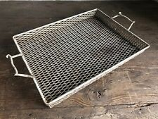 Mid Century French 1950s Painted Metal Tray - Modernist -  Mathieu Matégot Style