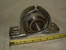 """FYH P208 PILLOW BLOCK WITH FYH UC208 1-1/2"""" BEARING  NEW"""