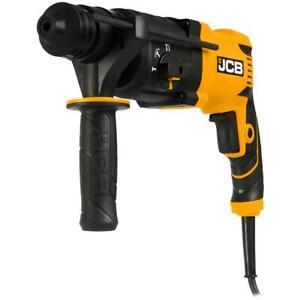 JCB Bohrhammer und Meißelhammer 850W SDS-plus im Handwerkerkoffer Kombihammer
