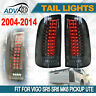 2004-2014 fit for Toyota Hilux Vigo Pickup LED Taillight Black Len Pair Upgrade