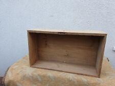 Große alte Schublade in Fichte und Tanne
