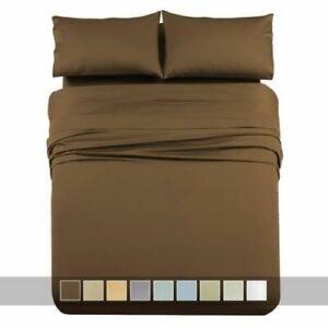 Luxury 1000 Thread Count Cal King Deep Pocket Cotton Sheet Sets