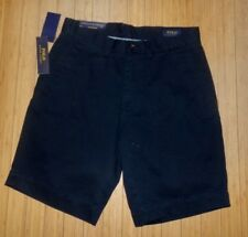 "NWT mens Polo Ralph Lauren Classic Fit 9"" Chino Shorts~Navy~sz 31"