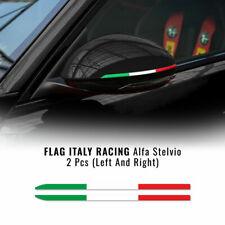 Stripes Strisce Adesive Tricolore Italia per Specchietti Alfa Romeo Stelvio