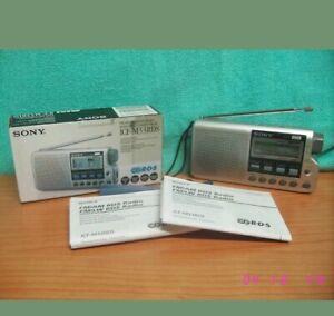 Sintonizador de radio digital portatil SONY ICF-M33 RDS FM/AM receptor 40
