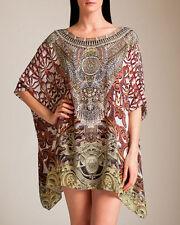 Regular 100% Silk Tunic Dresses for Women