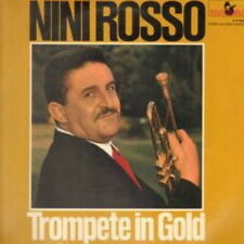 "12"" Nini Rosso Trompete in Gold (Greenleevers, O mein Papa) 60`s Marcato"