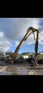 Liebherr R954 3 Stage Boom arm Demolition tracked Excavator High Reach Digger