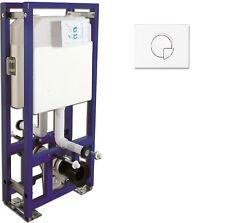 Vorwandelement Unterputzspülkasten Doppelanschluss Dopplespülung Spülkasten WC