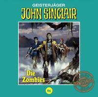 DIE ZOMBIES - JOHN SINCLAIR TONSTUDIO BRAUN-FOLGE 85   CD NEW
