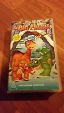 THE LAND BEFORE TIME  - THE BIG FREEZE  -  VHS VIDEO