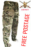 BRITISH ARMY PCS WINDPROOF TROUSERS MTP CAMO MULTICAM COMBAT MILITARY CARGO