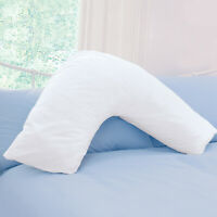 V Shaped Pillow - Extra Filled, Support for Pregnancy Maternity Nursing & Back