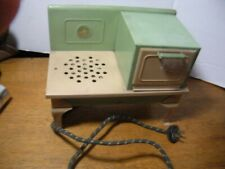 Vintage Childs Electric Stove Toy 1930s Kingston Products Salesmens sample works