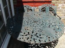 Beautiful, garden table & 4 chairs  very solid