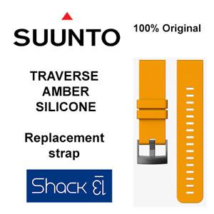 SUUNTO TRAVERSE ALPHA SILICONE STRAP BAND 100% Original - NEW