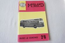 More details for 1961 midland red abc bus fleets spotters book ian allan no underlinings