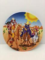 Mcdonalds Dinner Plate Melamine 1998 Western Ronald