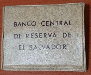 EL SALVADOR VERY RARE BCR PROOF COIN OF 1 COLON 1984 MEDAL GIRO DIFF OF ORDINARY